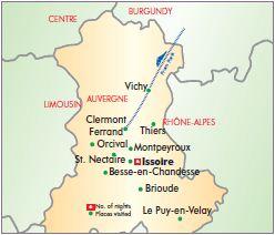 Auvergne by Rail