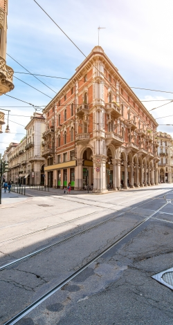 Art Nouveau In Turin And Milan
